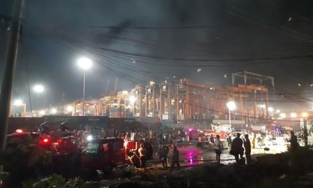 Filipinas: Incendio deja cinco victimas mortales hinh anh 1