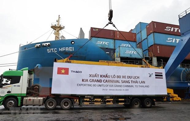 Empresa automovilistica vietnamita THACO establece nuevo record de ventas hinh anh 1