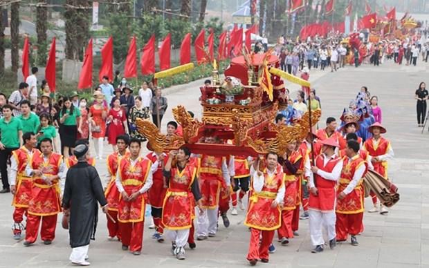 Celebraran en Vietnam Festival dedicado a Reyes Hung a menor escala debido al COVID-19 hinh anh 1
