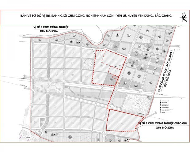 Localidad vietnamita acelera planificacion de parques industriales hinh anh 1