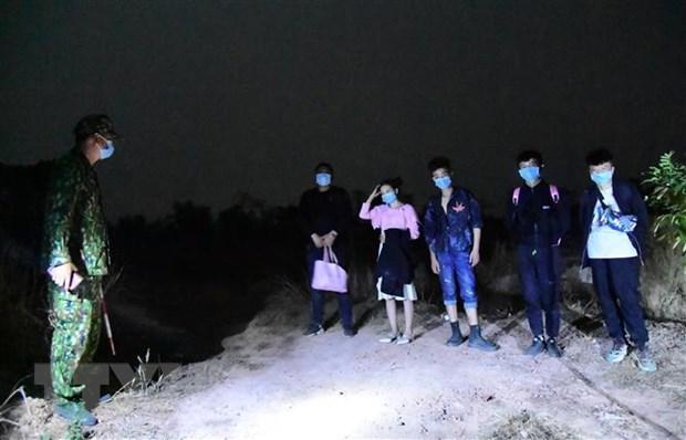 Provincia vietnamita arresta a cinco inmigrantes chinos ilegales hinh anh 1