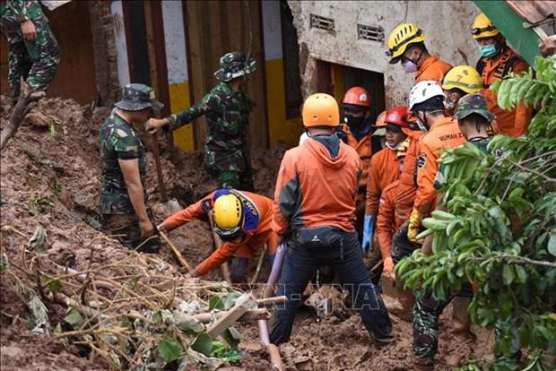 Indonesia: cinco muertos y 70 desaparecidos por alud en una mina de oro hinh anh 1