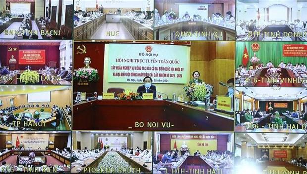 Capacitan a funcionarios de proximas elecciones parlamentarias en Vietnam hinh anh 1