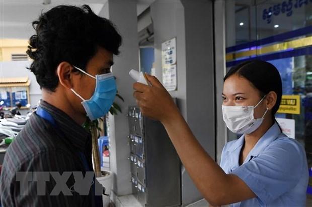 Se mantienen estables 13 pacientes vietnamitas de COVID-19 en Camboya hinh anh 1
