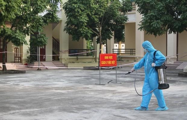Vietnam confirma un nuevo caso importado de COVID-19 hinh anh 1