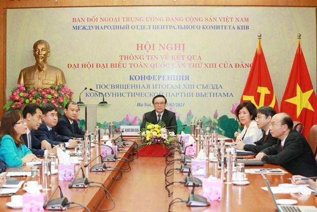 Concede Vietnam importancia a nexos con Rusia hinh anh 1