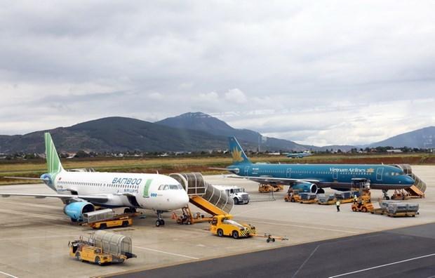 Listas las aerolineas vietnamitas para transportar vacuna contra el COVID-19 hinh anh 1