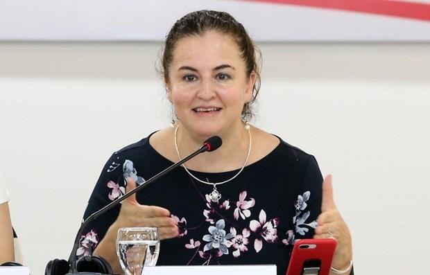 Curso financiado por Australia ayuda a mejorar trabajo social para mujeres y ninos abusados  hinh anh 1