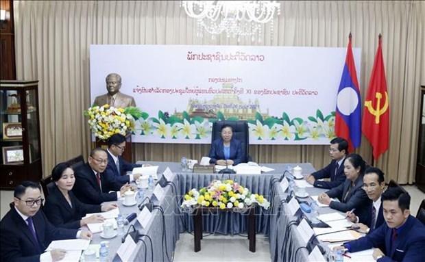 Informan sobre resultados del XI Congreso Nacional del Partido Revolucionario Popular de Laos hinh anh 1
