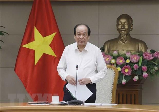 Piden acelerar en Vietnam proceso de documentos pendientes del Gobierno correspondientes al periodo 2016-2021 hinh anh 1