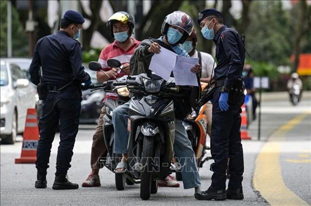 Malasia aumenta multas para personas cometidas de reglas contra COVID-19 hinh anh 1