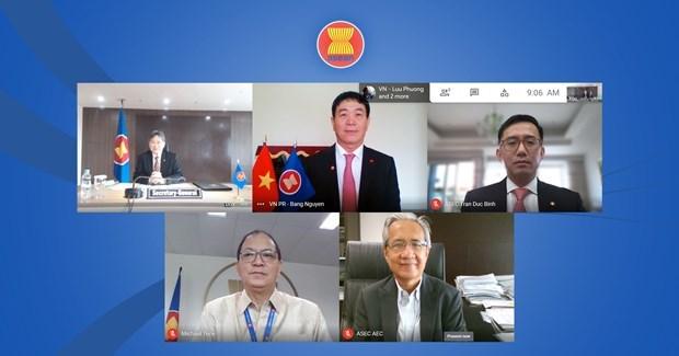Secretario general de la ASEAN aprecia exito de Vietnam en Ano Presidencial de ASEAN 2020 hinh anh 1
