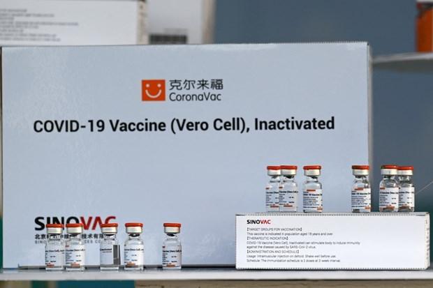 Tailandia comienza campana de vacunacion contra COVID-19 hinh anh 1