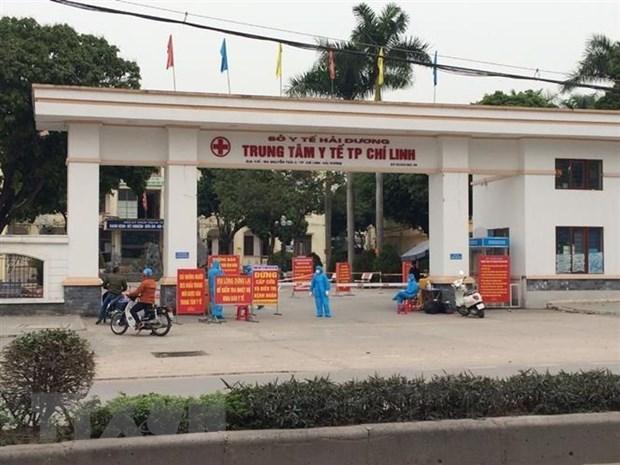Provincia vietnamita de Hai Duong disuelve hospital de campana de COVID-19 hinh anh 1