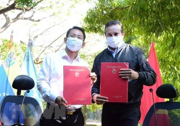 Vietnam y Venezuela impulsan cooperacion en agricola hinh anh 1