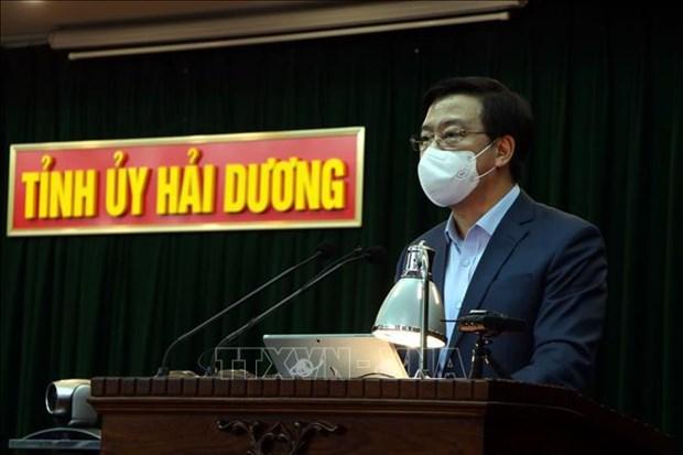 Provincia vietnamita de Hai Duong terminara la aplicacion de distanciamiento social este miercoles hinh anh 1