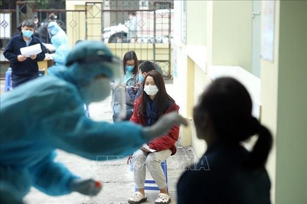 Vietnam registra 13 nuevos casos del COVID-19 hinh anh 1