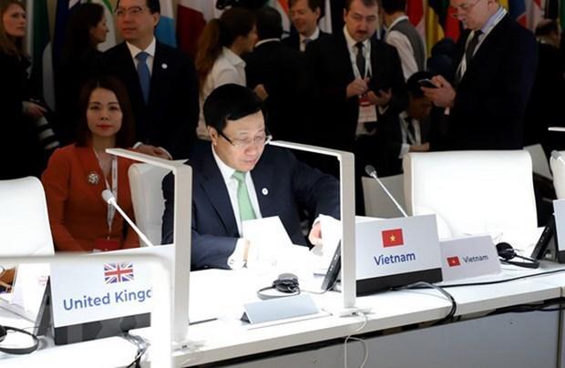 Reunion Asia-Europa para la paz y seguridad del mundo hinh anh 2