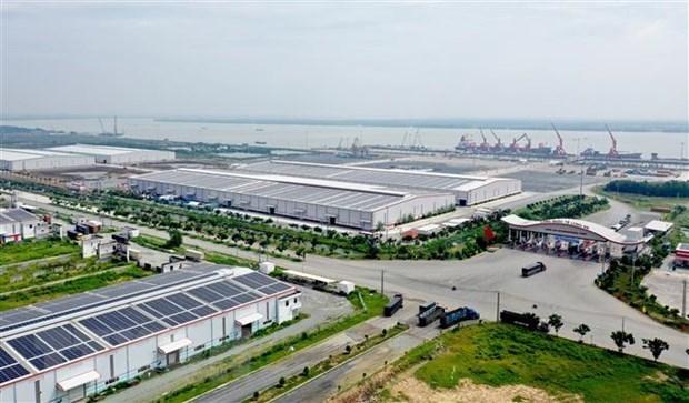 Expandiran puerto internacional vietnamita de Long An hinh anh 1