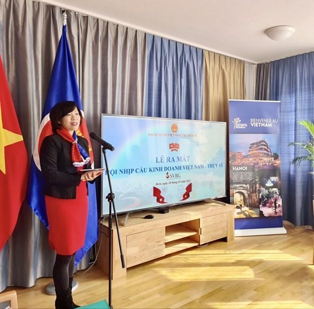 Establecen puerta de enlace empresarial Vietnam- Suiza hinh anh 1