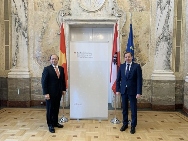 Vietnam y Austria robustecen cooperacion economica y comercial hinh anh 1