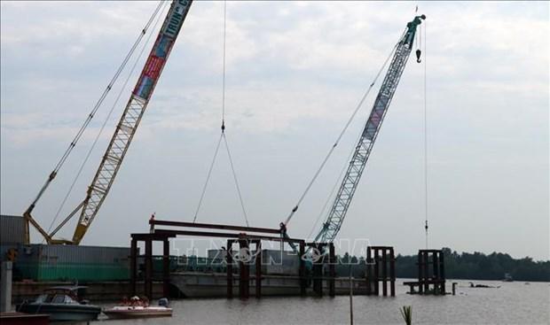 Provincia vietnamita de Kien Giang pondra pronto en funcionamiento sistema de riego Cai Lon-Cai Be hinh anh 1