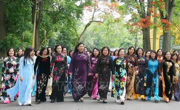 Organizan diversas actividades en Vietnam en saludo al Dia Internacional de la Mujer hinh anh 1