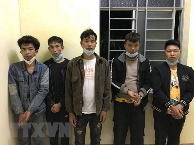 Detienen a cinco ciudadanos chinos por entrada ilegal a Vietnam hinh anh 1