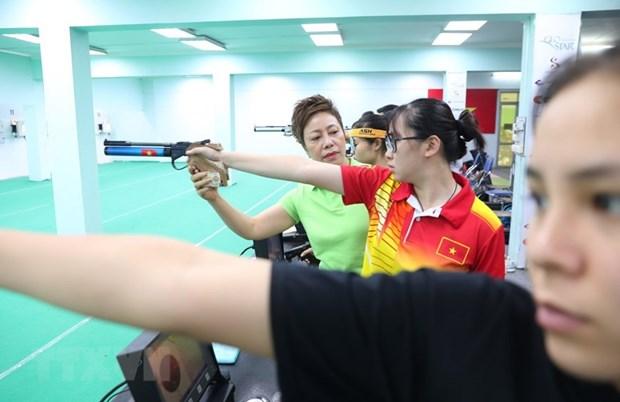 Hanoi insta a acelerar restauracion y mejoramiento de obras para SEA Games 31 hinh anh 1