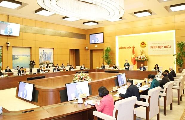 Presidenta del Parlamento preside tercera sesion del Consejo Electoral Nacional hinh anh 2