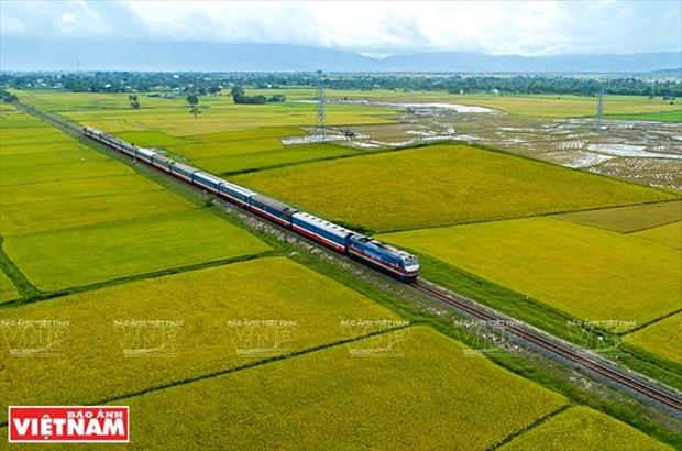 Estudian construccion de ferrocarril Ciudad Ho Chi Minh-Can Tho hinh anh 1