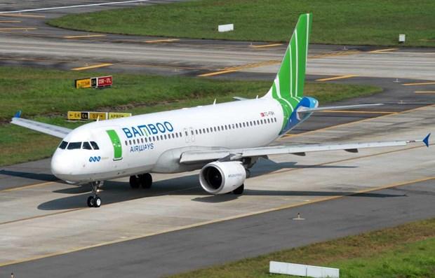 Bamboo Airways reanuda vuelos Ciudad Ho Chi Minh- Quang Ninh hinh anh 1