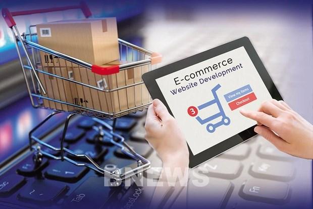 Comerciantes electronicos extranjeros en Vietnam deberan pagar impuestos en linea hinh anh 1