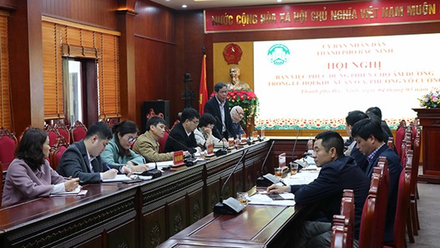 Provincia vietnamita de Bac Ninh recuperara mercado Yin-yang hinh anh 1