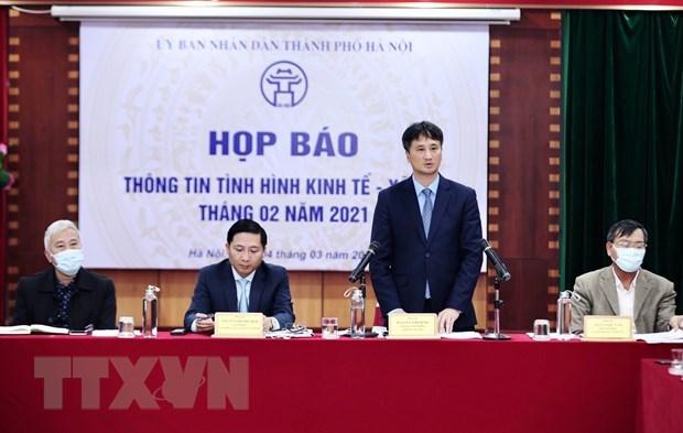 Empenado Hanoi en promover desarrollo socioeconomico hinh anh 1