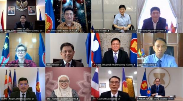 Vietnam propone a China continuar apoyando proceso de integracion de ASEAN hinh anh 1