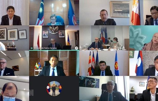 Francia concede importancia a cooperacion con la ASEAN hinh anh 1