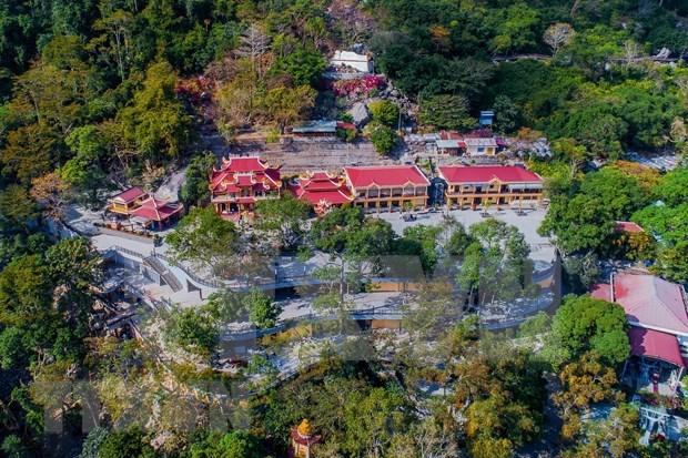 Montana Ba Den, destino potencial del turismo en Vietnam hinh anh 1
