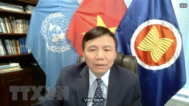Vietnam insta a buscar solucion satisfactoria a crisis en Myanmar hinh anh 1