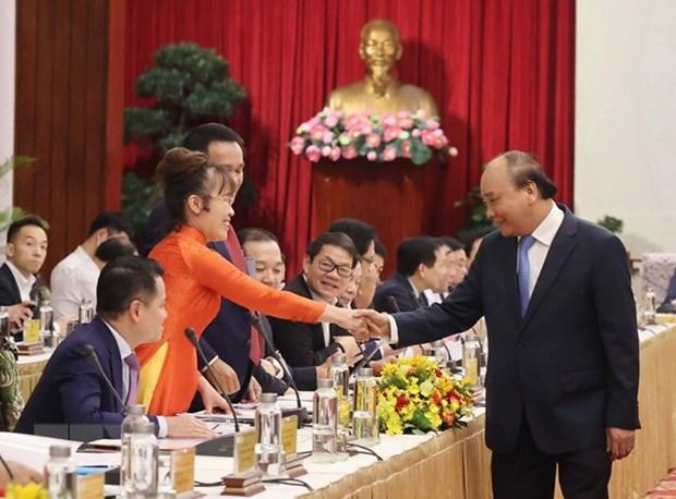 Dialoga premier de Vietnam con comunidad empresarial hinh anh 3