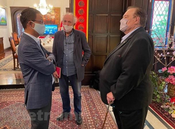 Actualizan situacion de Vietnam a prensa argentina hinh anh 2