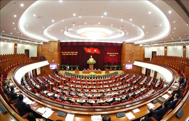 Segundo pleno del Comite Central del PCV considera candidatos para puestos de liderazgo hinh anh 1
