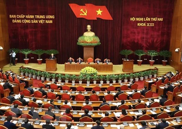 Comite Central del PCV analiza agenda de todo mandato y labores de personal hinh anh 1