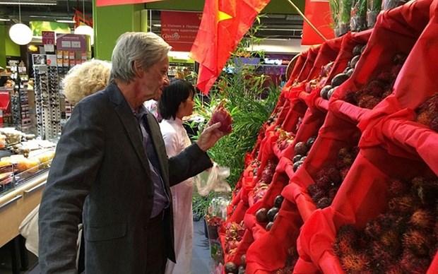 Productos vietnamitas, con gran potencial en mercado frances hinh anh 1