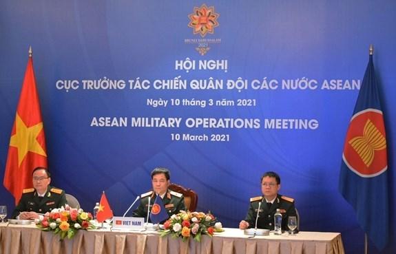 Asiste Vietnam a XI Reunion de Operaciones Militares de la ASEAN hinh anh 1