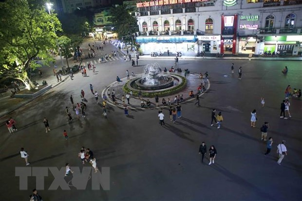Reanudaran espacios peatonales en Hanoi desde 12 de marzo hinh anh 1