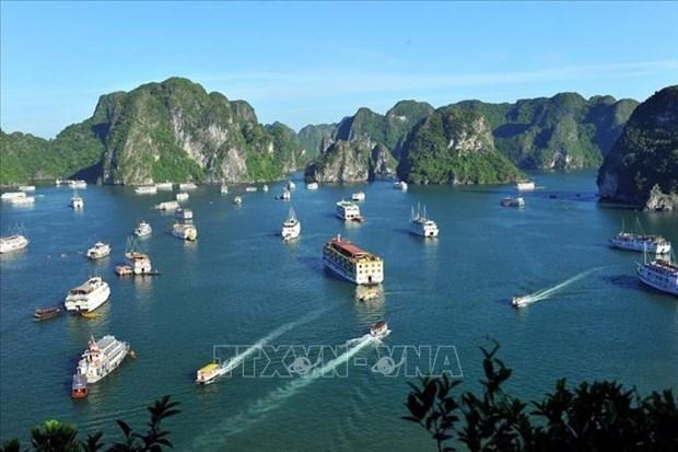 Provincia vietnamita de Quang Ninh espera fuerte recuperacion del turismo por control exitoso de COVID-19 hinh anh 1