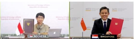 Entra en vigor Tratado de Inversiones Indonesia-Singapur hinh anh 1