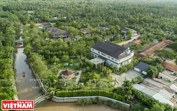 Provincia vietnamita de Ben Tre por estimular progreso del turismo hinh anh 1