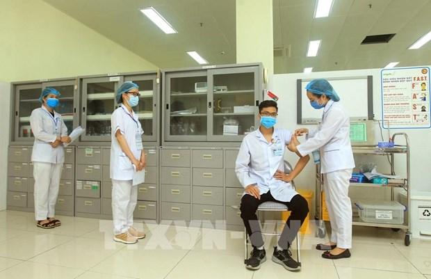 Ciudad vietnamita de Hai Phong comienza vacunacion contra el COVID-19 hinh anh 1